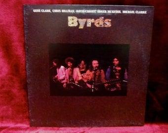 The BYRDS - Byrds - 1973 Vintage Vinyl GATEFOLD Record Album...MONO White Label Promo
