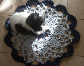 Rug Crochet pattern Tarn Big Carpet PDF or doily mandala crochet pattern - INSTANT DOWNLOAD