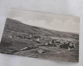 Virginia City, Montana Postcard Vintage - Birds Eye View