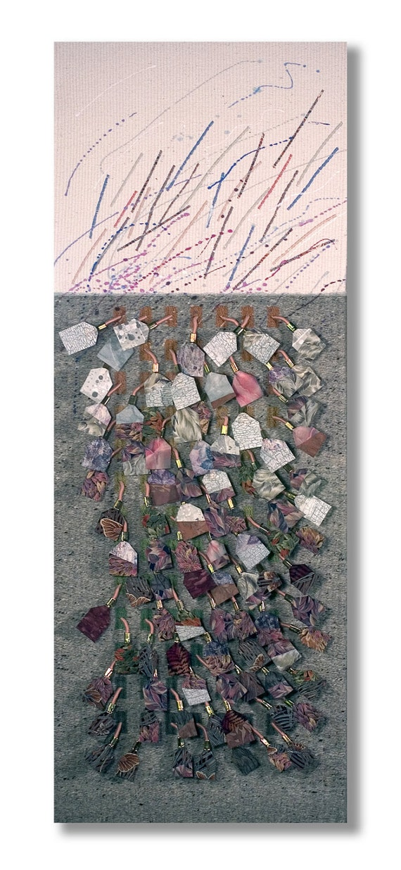 Fiber Art, Nature's Palette No. 16.1 ON SALE