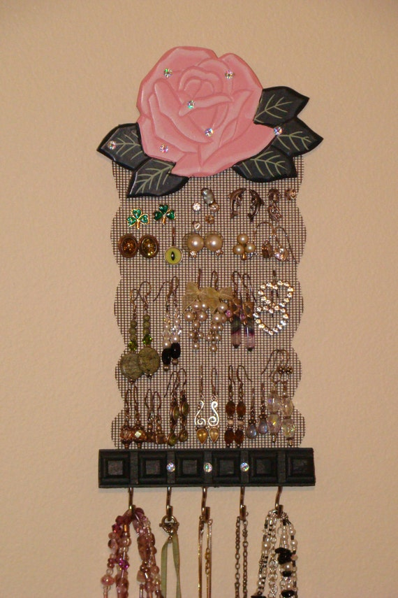 Jewelry Holder Display Organizer  'Baby Rose'