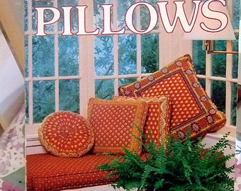 """A Vintage Publication on Etsy, """"How to Make Pillows"""", A Sunset Book, Illustrated Instructions, Gift For Her, Do It Yourself, Christmas"""
