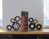 Pair of Four Gear Bookends