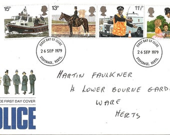 Police First Day Cover - SALE
