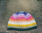 Spring/summer girl hat colorful