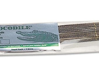 SAW BLADES CROCODILE Number 1 Jewelers Swiss Made 1 Dozen Metal Sawing Tool Jewelry Tools