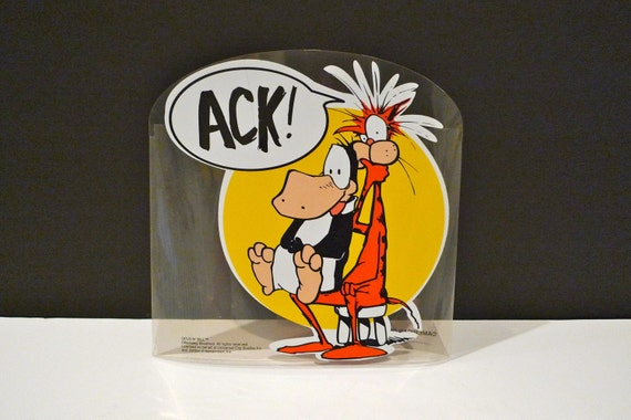Bill The Cat And Opus Ack Vintage Bloom County Berkeley