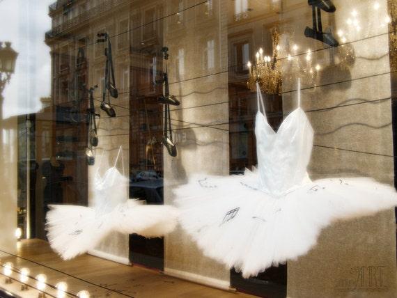 ballet art Paris decor french photo tutu dress pointe ballet shoes baby girl nursery parisian street Bestseller OOAK 4x6 5x7 6x8 8x10 10x15