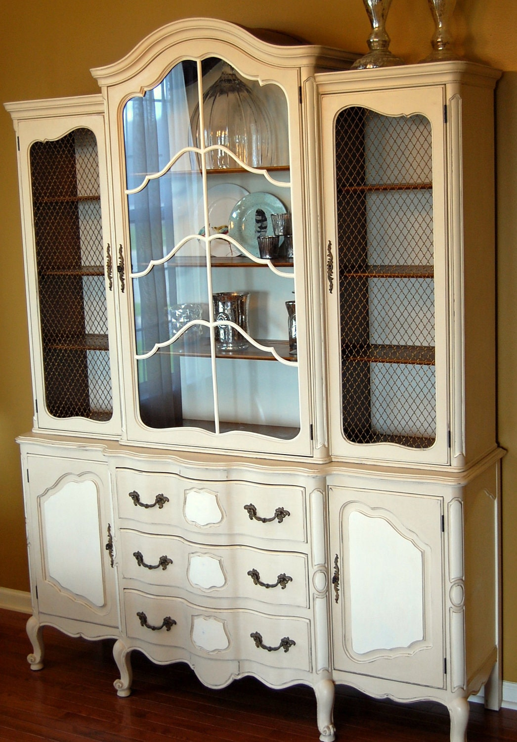 Annie Sloan Chalk Painted Hutch : ilfullxfull329263191 from www.etsy.com size 1046 x 1500 jpeg 362kB