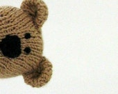 Knitted Bear Toy - Stuffed Animal - Small Toy - Kids Toy - Handmade Teddy Bear - Stuffed Bear - Toy - Plush Doll - Child Toy - Christopher