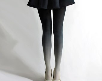 SALE! BZR Ombré tights in Coal
