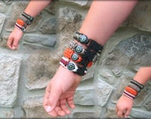 Compass & Emergency Whistle Paracord Survival Wristband
