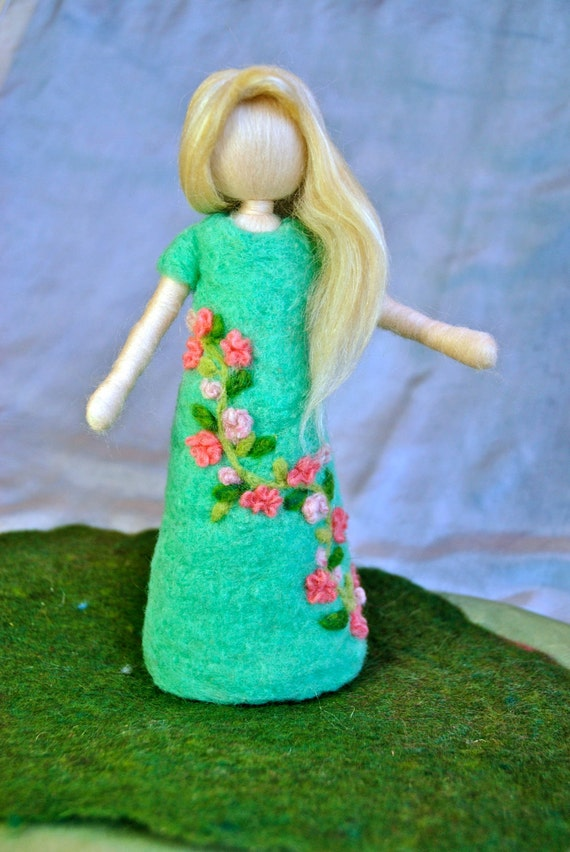 Куклы техника валяния