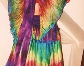 Washable Rainbow silk Faerie WINGS tribal fusion belly dance renaissance gypsy costume fairy fusion 7 colors 4 sizes