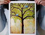 Boughs in Leaf 8X10 Print
