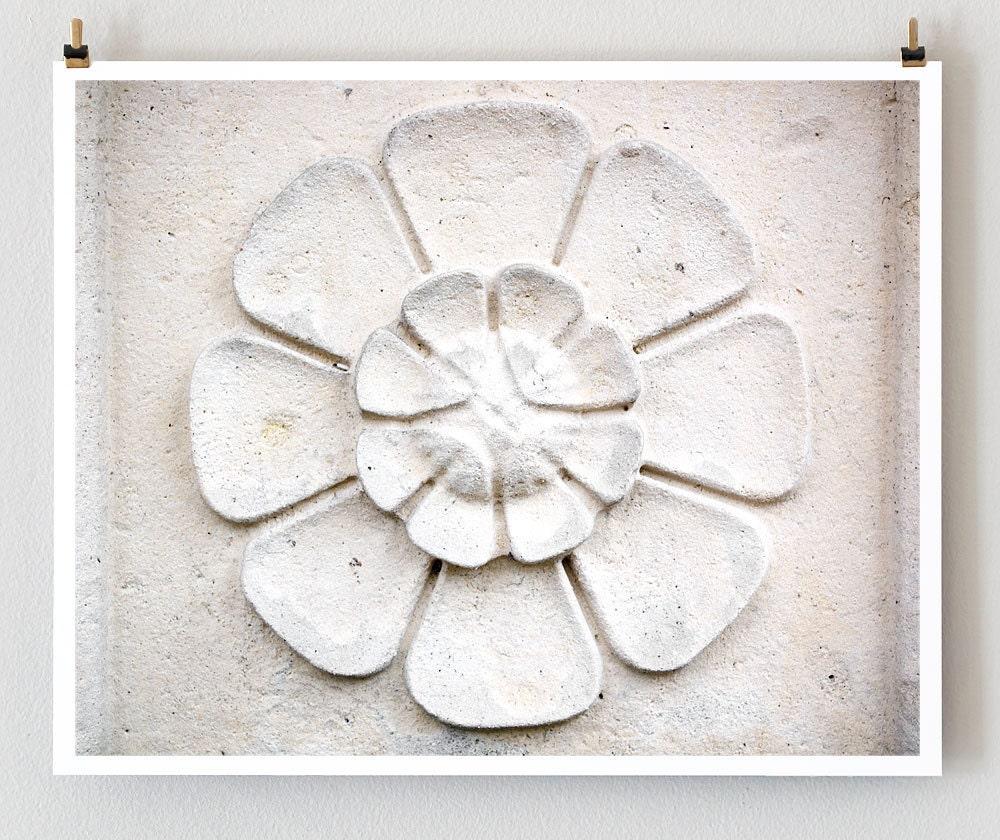 """Paris Photography, """"Stone Flower"""" Paris Print, Large Art Print Fine Art Photography"""