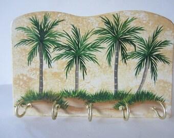 Palm Tree Key Rack- Key Holder