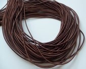 5Yards 2.80mm Satin Elastic in Brown ..For Stationary, Accessories, Jewelry, Stationary