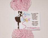 Bakers Twine, Pink Twine, Scrapbook Twine, Baking Twine, Embellishments,  Packaging Twine, Card Making Twine, Craft Twine, Sewing Twine