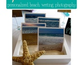 Wedding Place Cards and Favors - all in one -Beach Themed Weddings by leftbeachfotos on Etsy