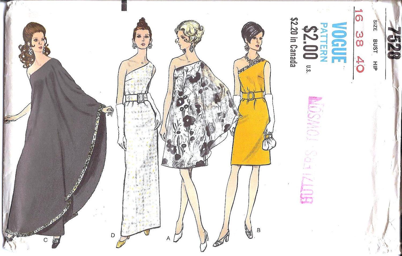 Bridesmaid Dress Patterns Vogue