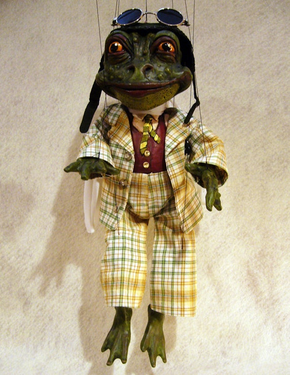 Mr. Toad Marionette, Wind in the Willows Character
