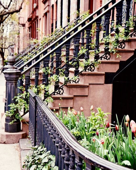 New York City Photography Urban Home Decor Stairs By