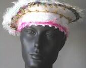 Beautiful White Crochet Hat...