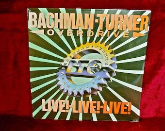 SEALED...BACHMAN -TURNER Overdrive - 1986 Vintage Vinyl Record Album