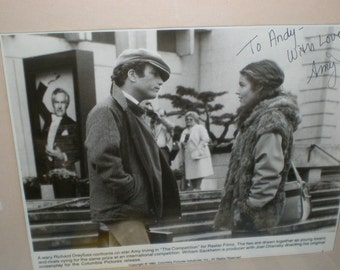 Richard Dreyfus & Amy Irving Signed Photograph Framed/Matted Film Memorabilia  Autographed Pictured  With Richard Dreyfus
