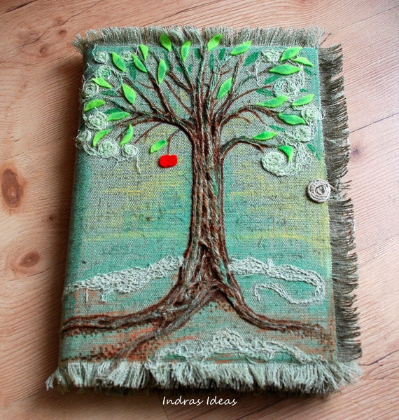Tree of life, guest book.