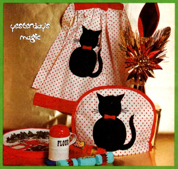 Cat Black Lucky Sewing Etsy