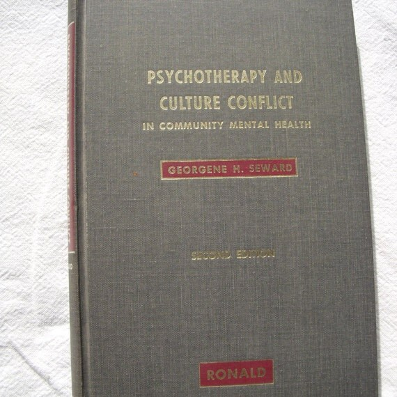 2 book set 1960s and 1970s Psychotherapy Books