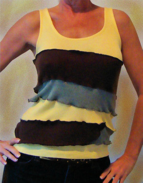 SALE - Upcycled Top - OOAK - Hippie - Retro - 20% OFF listed price