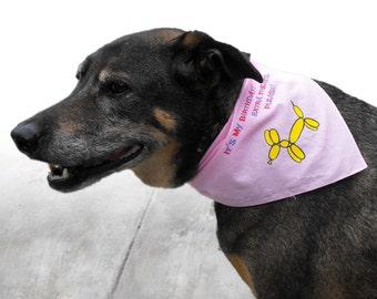 Dog Birthday Bandana: It's My Birthday Extra Treats Please