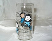 Vintage Lucy (Peanuts) Jelly Jar Glass...