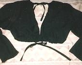 TRibaL CHOLi belly dance SCA gypsy ATS renaissance costume 8 colors sm-XL long sleeve