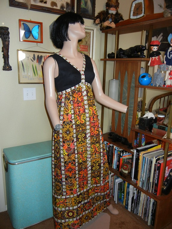 floral Maxi dress Futura Couture of New York