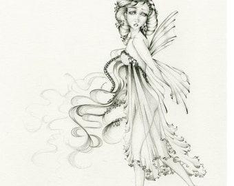 fairy wings drawings in pencil Dark Fairy Drawings In Pencil