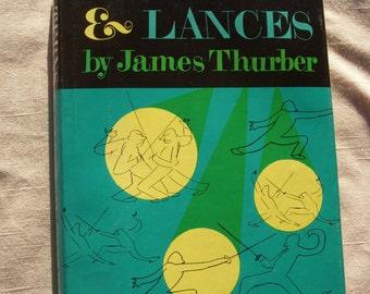 1961 Lanterns and Lances James Thurber Book