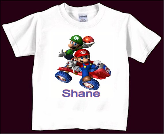 Personalized Super Mario Brothers T Shirt Infant T By