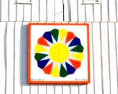 Barn Quilt Photography Print 5x7 - Illinois - Country Summer Home Decor