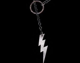 Lightning Bolt Lariat Necklace