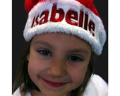 Personalized Santa Hat Premium - All Sizes Christmas Custom Embroidered for the Holiday
