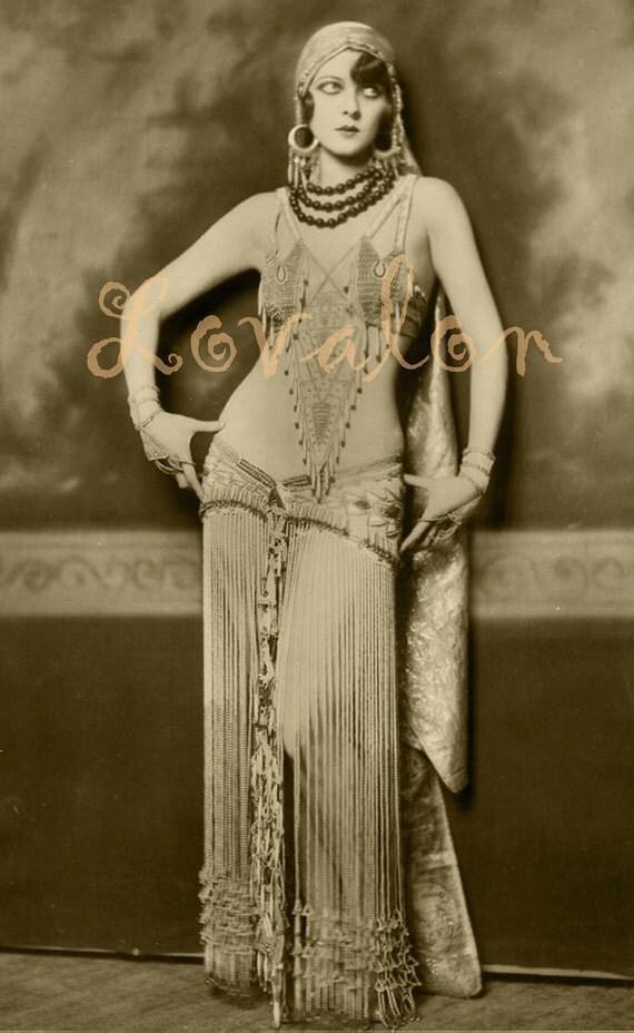 1920 39 S Gypsy Girl Sexy Vintage Fashion Photo By Lovalon