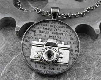 Black and White Photography Necklace - Defining the Life of a Photographer by COGnitive Creations