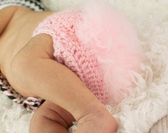 Tutu Ruffle Bottom Diaper Cover Multiple Colors Available For Baby Girl Newborn 0-3 Months