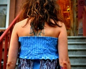 Blue Spring Blouse - Women's Spring Blouse - Summer Blouse