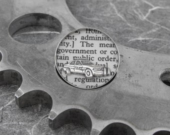 Police Definition Brooch - Defining the Life of a Police Officer - by COGnitive Creations