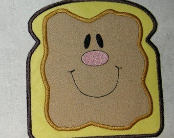 PEANUT BUTTER & Jelly Sandwich Appliques - INSTANT Download Machine Embroidery Design by Carrie
